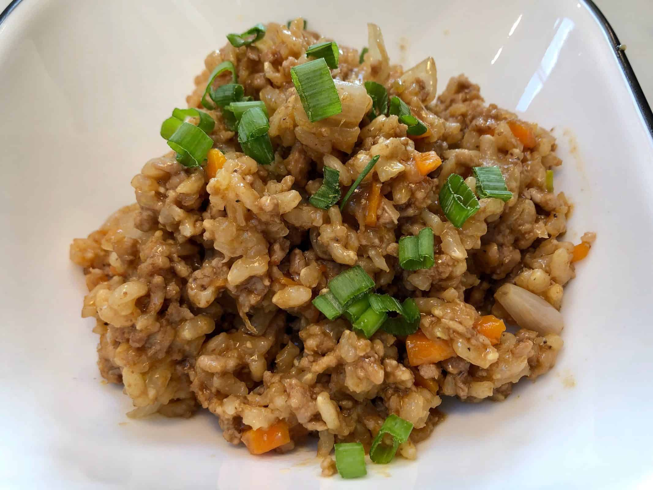 Ground Pork Stir Fry
