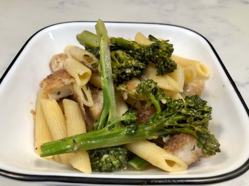 Chicken and broccolini pasta