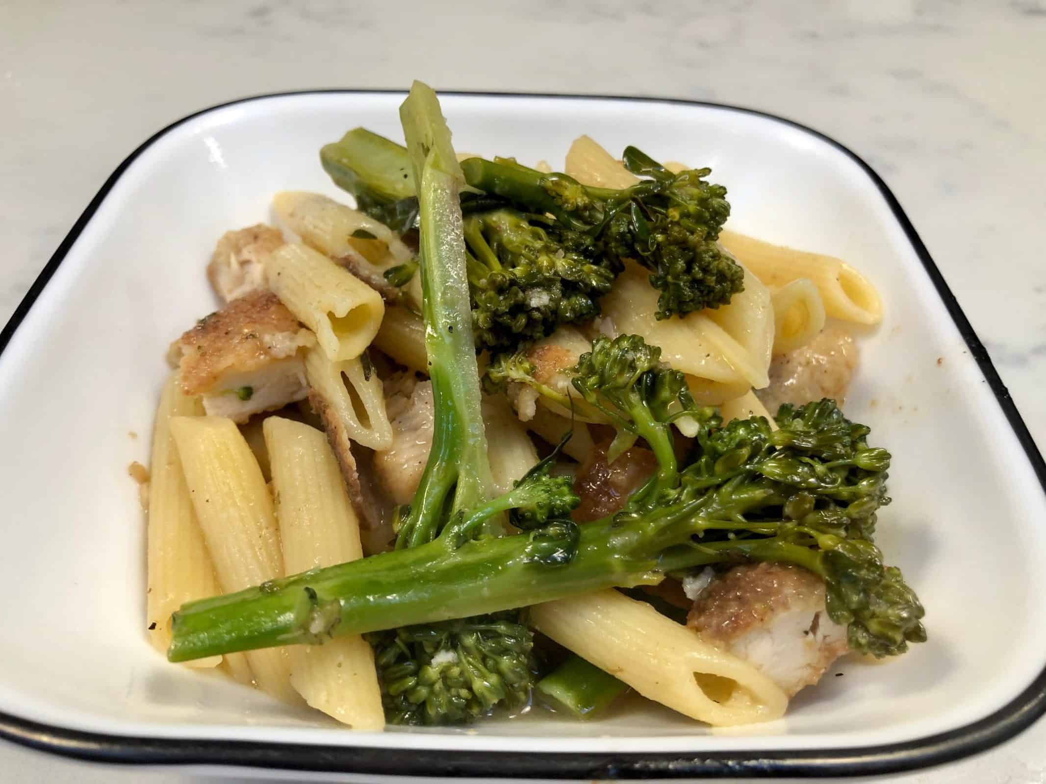 Pasta with Broccolini and Chicken