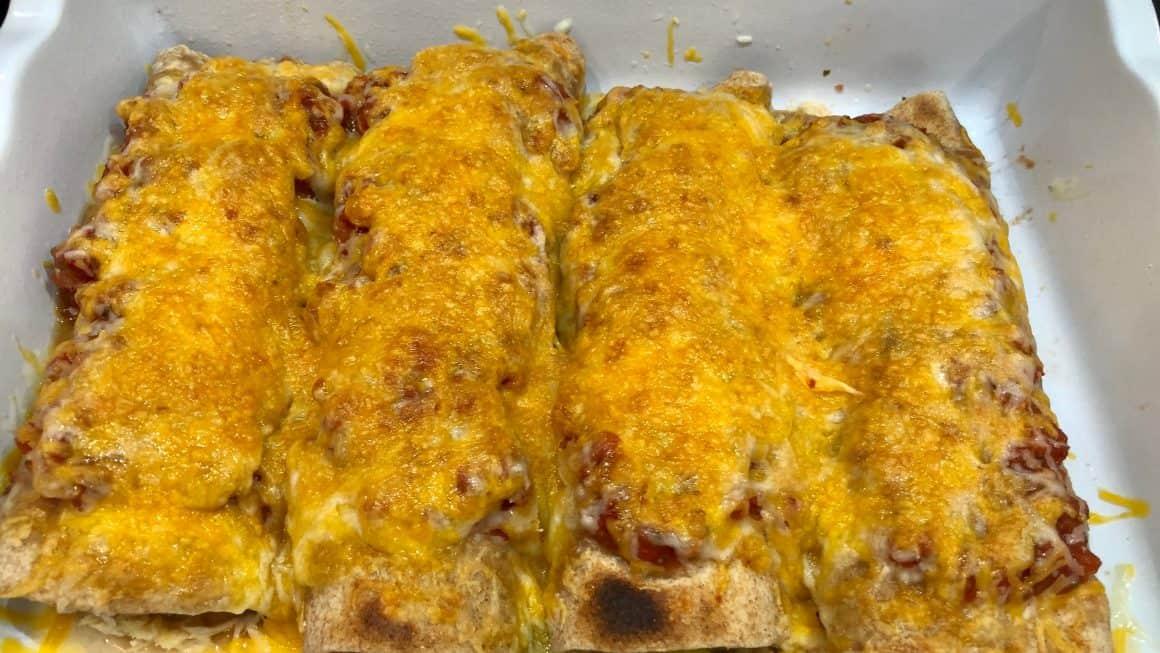 Best baked chicken enchiladas