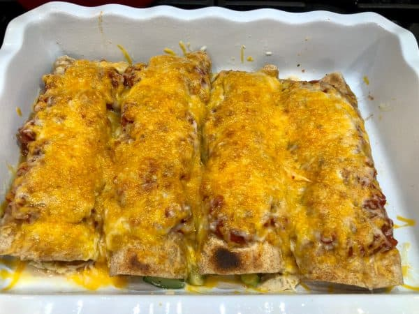Best Baked Chicken Enchiladas