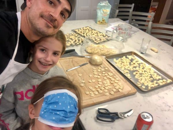 Homemade Orecchiette with Semolina Flour