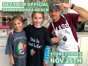 the skinny guinea merch store