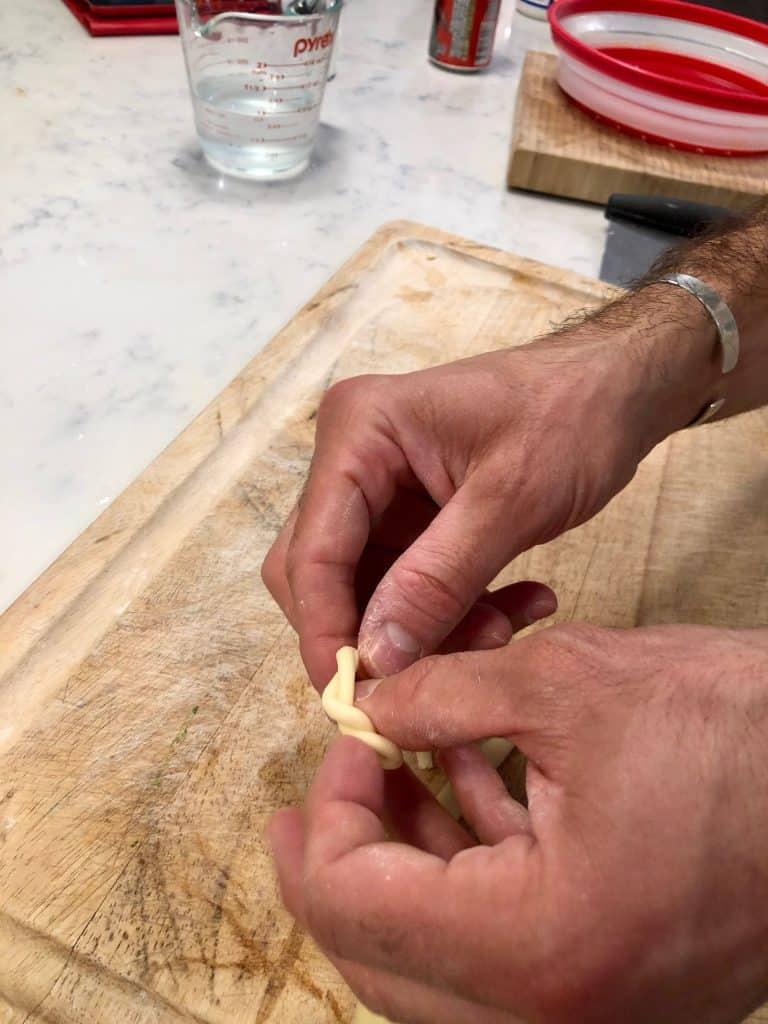 Braiding lorighittas