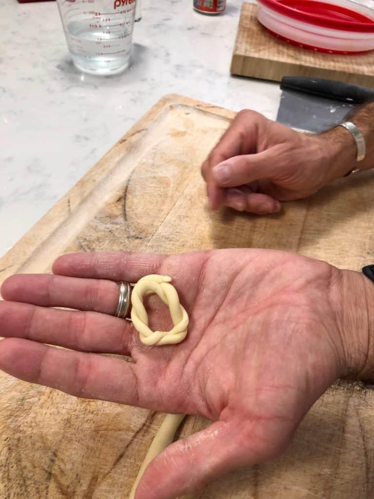 Homemade lorighittas