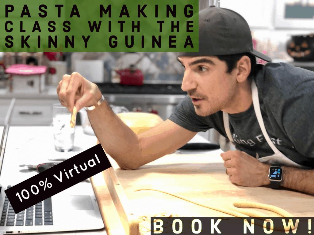 Pasta making class image